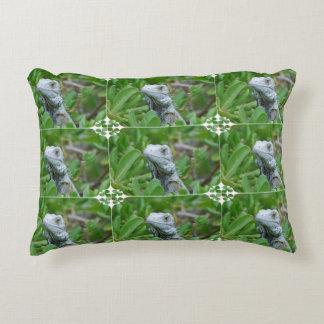 Peek-a-boo Iguana Decorative Pillow