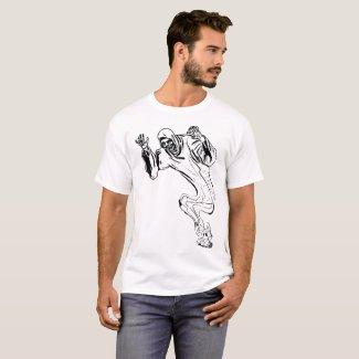 Peek a Boo Illustration T-Shirt