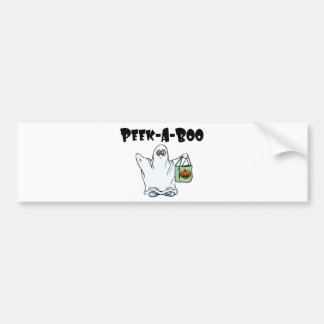 Peek-A-Boo Item Car Bumper Sticker