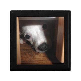 Peek-a-Boo Keepsake Box