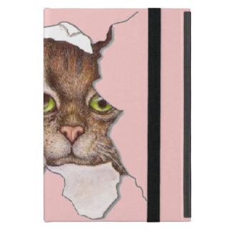 Peek A Boo Kitty 2 Cover For iPad Mini