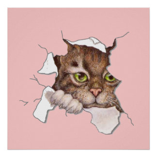 Peek A Boo Kitty 2 Poster