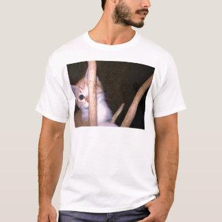peek a boo kitty T-Shirt