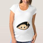 peek a boo maternity T-Shirt