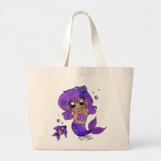 """Peek A Boo Mermaid"" Bag"