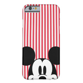 Peek-a-Boo Mickey Mouse Barely There iPhone 6 Case