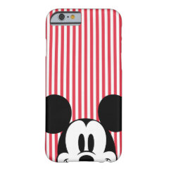 Peek-a-Boo Mickey Mouse iPhone 6 Case