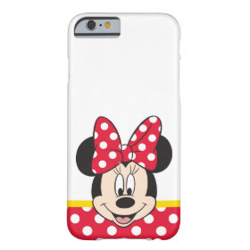 Peek-a-Boo Minnie Mouse - Polka Dots Barely There iPhone 6 Case