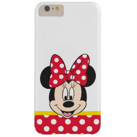 Peek-a-Boo Minnie Mouse - Polka Dots Barely There iPhone 6 Plus Case
