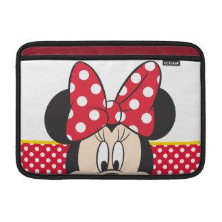 Peek-a-Boo Minnie Mouse - Polka Dots MacBook Sleeves