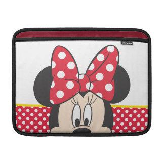 Peek-a-Boo Minnie Mouse - Polka Dots MacBook Air Sleeves