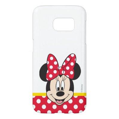 Peek-a-Boo Minnie Mouse - Polka Dots Samsung Galaxy S7 Case
