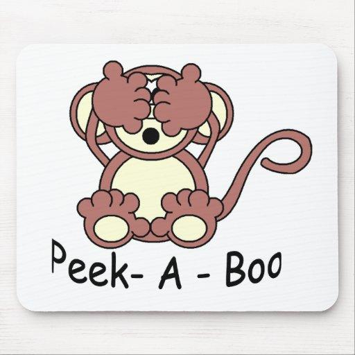 Peek- A - Boo Mouse Pad