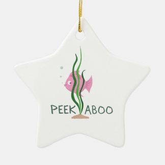 Peek A Boo Ornament