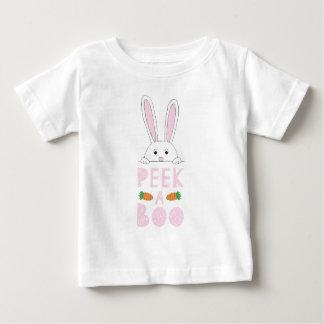 Peek-a-boo Pink Baby T-Shirt