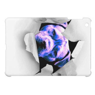 Peek A Boo Pit Bull iPad Mini Cases
