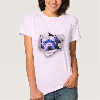 Peek A Boo Pit Bull T-shirt