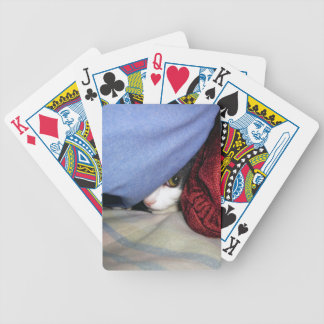 Peek a Boo Bicycle Playing Cards