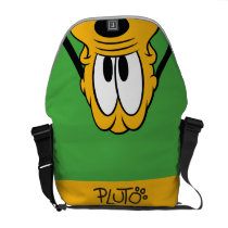 Peek-a-Boo Pluto Courier Bag at Zazzle