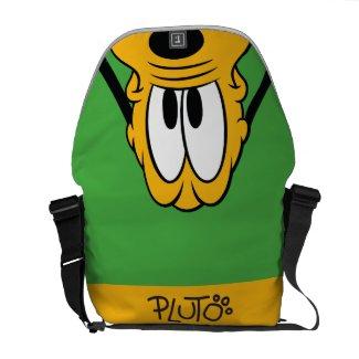 Peek-a-Boo Pluto Courier Bag