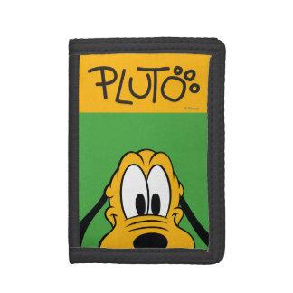 Peek-a-Boo Pluto Tri-fold Wallet