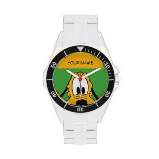 Peek-a-Boo Pluto Wristwatches