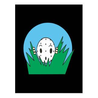 Peek A Boo Postcard
