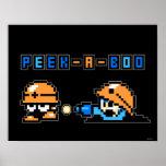 Peek-a-Boo Poster