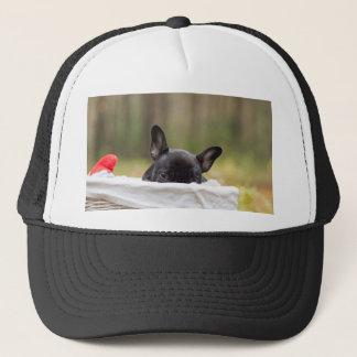 Peek-A-Boo Puppy Trucker Hat