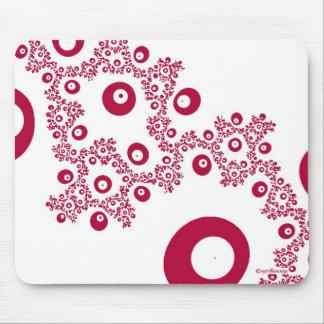 Peek a Boo Red Mousepad