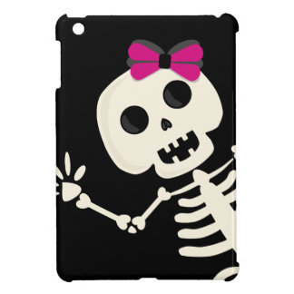 peek a boo skeleton cover for the iPad mini