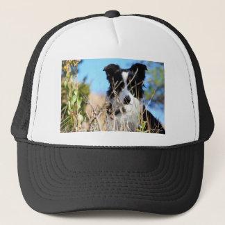 Peek a boo trucker hat