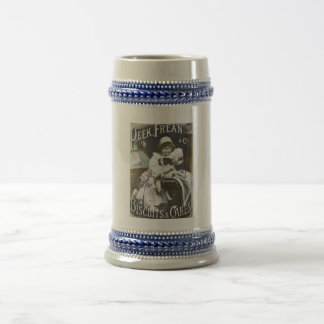 Peek, Frean, & Co. Biscuits and Cakes Vintage Ad Beer Stein