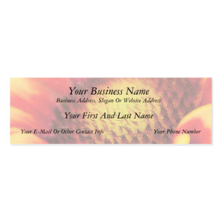 Peek Inside - Blanket Flower Business Cards