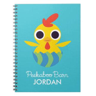 Peekaboo Barn Easter | Bandit the Chick Notebook