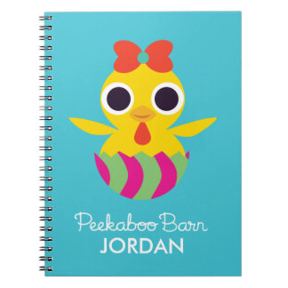 Peekaboo Barn Easter | Bayla the Chick Notebook