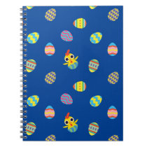 Peekaboo Barn Easter | Easter Egg Pattern Notebook