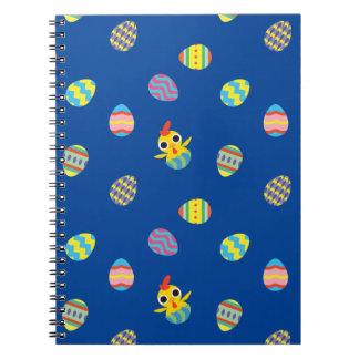 Peekaboo Barn Easter | Easter Egg Pattern Notebook