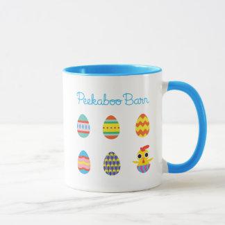Peekaboo Barn Easter   Easter Eggs 2 Mug
