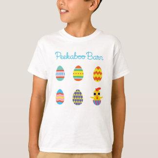 Peekaboo Barn Easter   Easter Eggs 2 T-Shirt