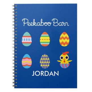 Peekaboo Barn Easter | Easter Eggs Notebook