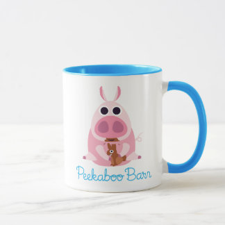 Peekaboo Barn Easter   Leary the Pig 2 Mug