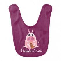 Peekaboo Barn Easter | Leary the Pig Bib