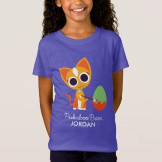 Peekaboo Barn Easter | Purrl the Cat T-Shirt