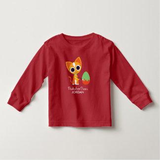 Peekaboo Barn Easter | Purrl the Cat Toddler T-shirt