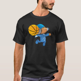 peekaboo basketball swish 02 T-Shirt