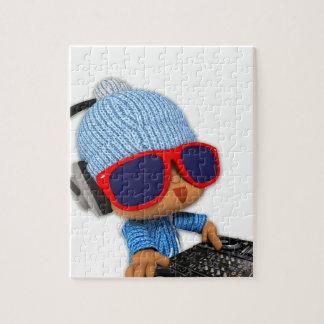 Peekaboo de DJ Puzzle Con Fotos