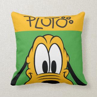 Peekaboo de Plutón el | Cojín Decorativo