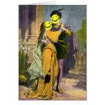 Peekaboo de Romeo y de Juliet Tarjetas