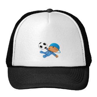 Peekaboo football hat